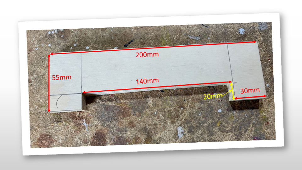sizes of wooden mailbox letter slot piece