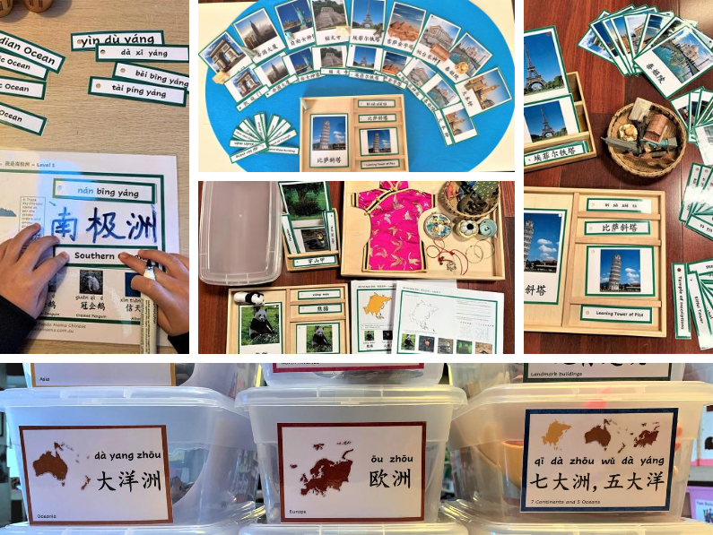 How to introduce Chinese geography words to kids playfully?