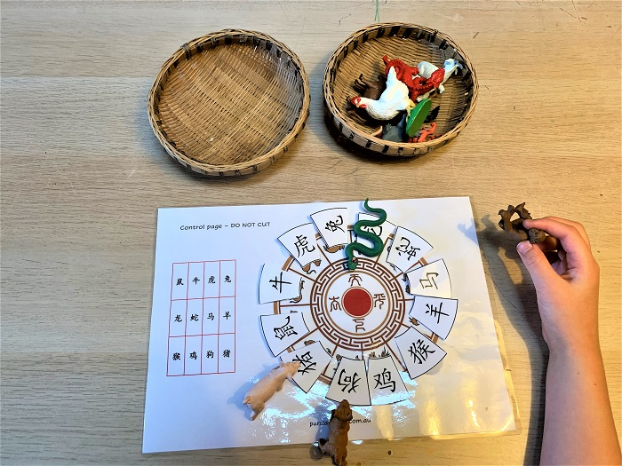 chinese zodiac animal activity for kids