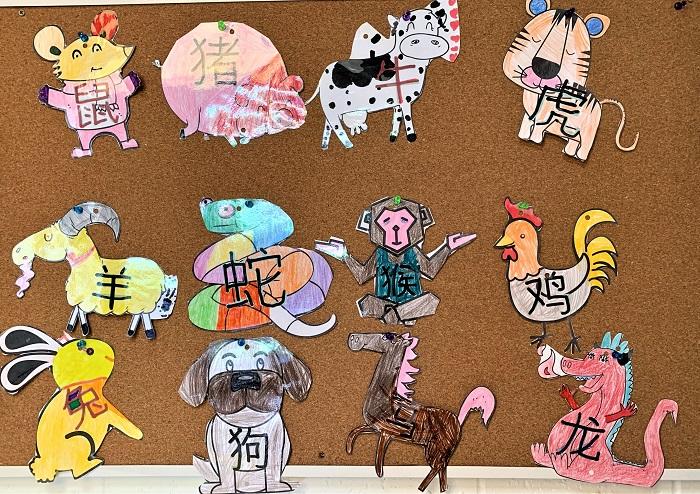 chinese zodiac animals for kids